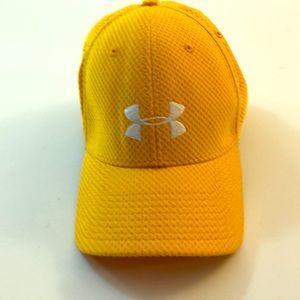 Under Armour hat,yellow,baseball hat